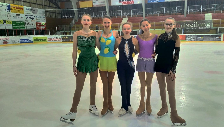 Erfolgreiches Wochenende für Herisauer Eiskunstläuferinnen