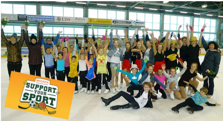 """Migros-Aktion """"Support your Sport"""""""